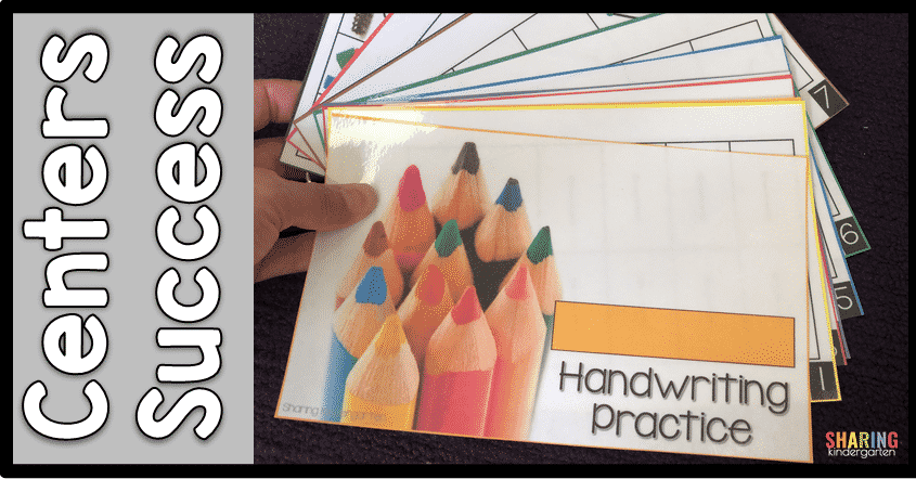 Practice handwriting with these kits.