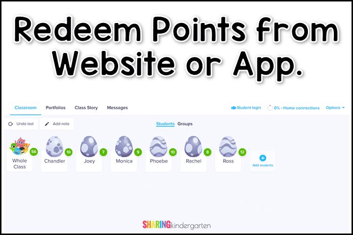 How to Redeem Points using Class Dojo