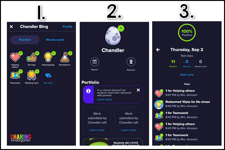 Here is how to Redeem Points on the Class Dojo App