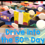 Drive in for the 50th Day of School
