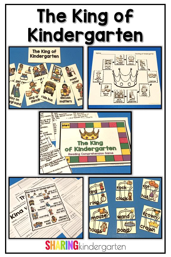 King of Kindergarten printables